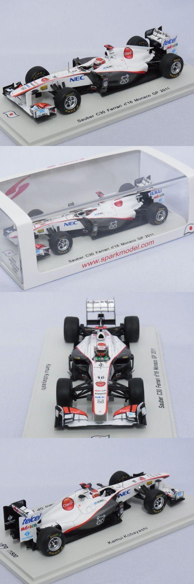 Formula 1 Cars 180270: Sauber C30 Ferrari, Kobayashi 2011 Monaco Gp Formula 1, Spark Sj005 Resin 1 43 -> BUY IT NOW ONLY: $35.99 on eBay!