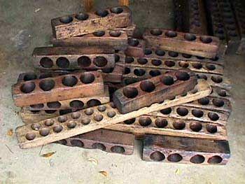 Antique sugar molds