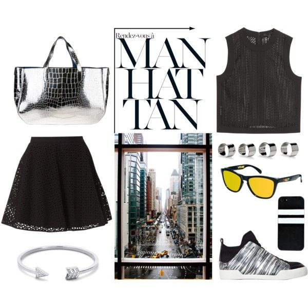 """manhattan#love#newyork"" by lelouka on Polyvore"