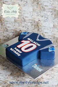 Patriots Jersey Cake