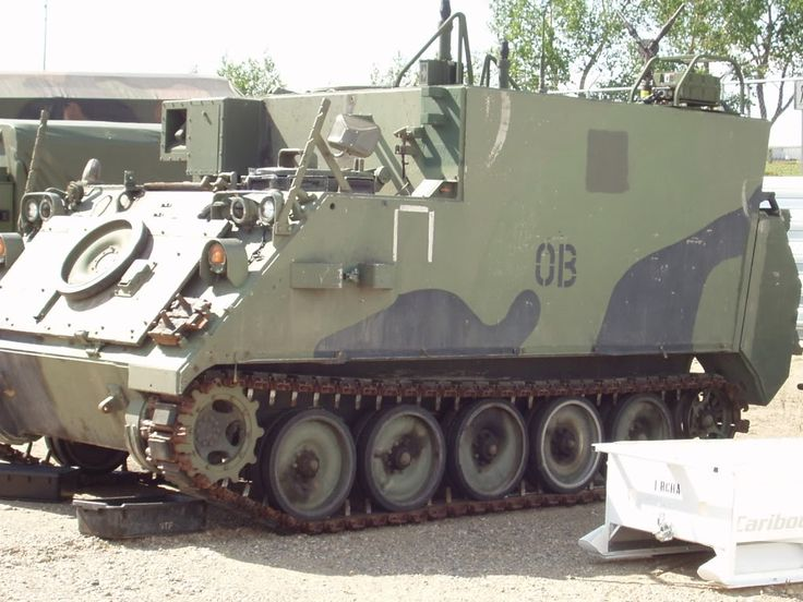 M577 CP of the Royal Canadian Horse Artillery