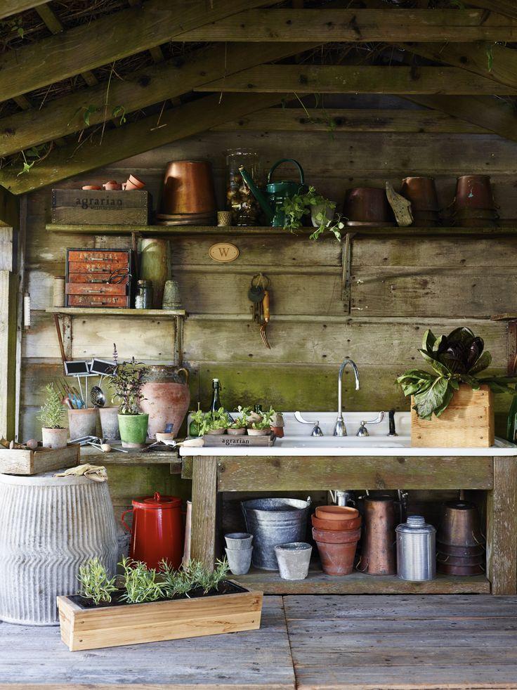 Dream garden shed | Agrarian: Williams-Sonoma
