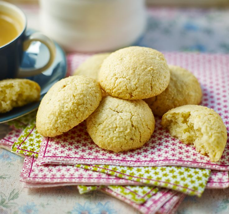 These light Italian biscuits are crisp on the outside and slightly chewy inside
