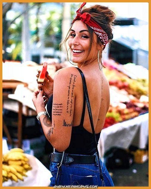Atemberaubende Perfekte Platzierungs-Tattoo-Ideen z. Hd. Frauen – Tattoos sind sehr beliebt