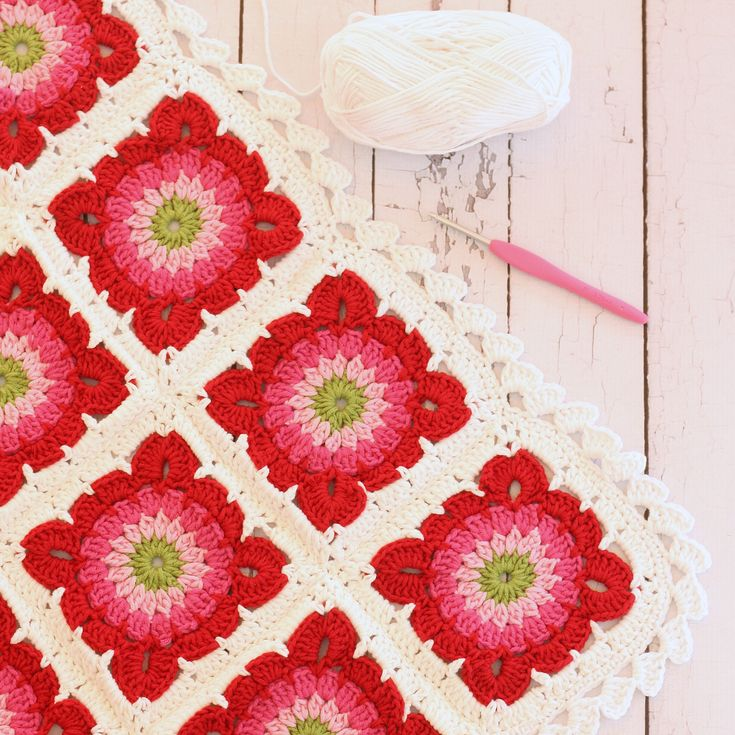 - by a spoonful of sugar - granny square