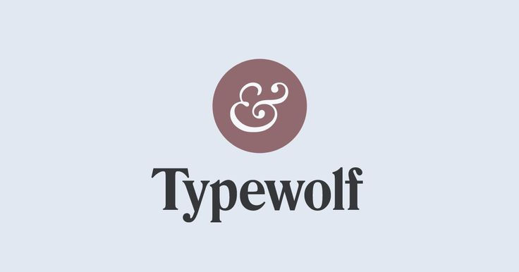 Typewolf helps designers choose the perfect font for their next design project – features web fonts in the wild, font recommendations and learning resources.