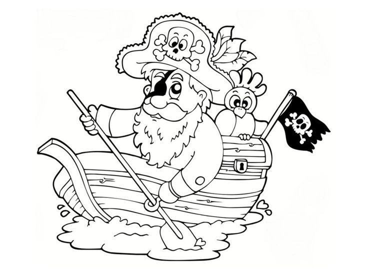 1000 images about enfants coloriage on pinterest - Bateau jack et les pirates ...
