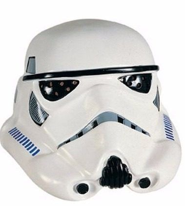 mascara casco stormtrooper deluxe star wars completa adulto