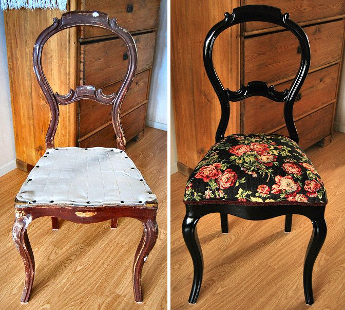 Ideas for Your Old Chairs - 115 Best Recovering And Restoring Chairs Images On Pinterest