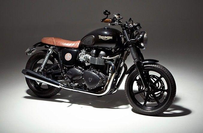 Ellaspede - Custom Triumph Bonneville Bike 2013
