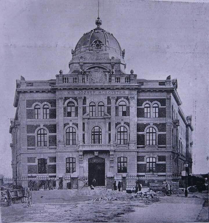 1905. Műegyetem, Szt. Gellért tér.