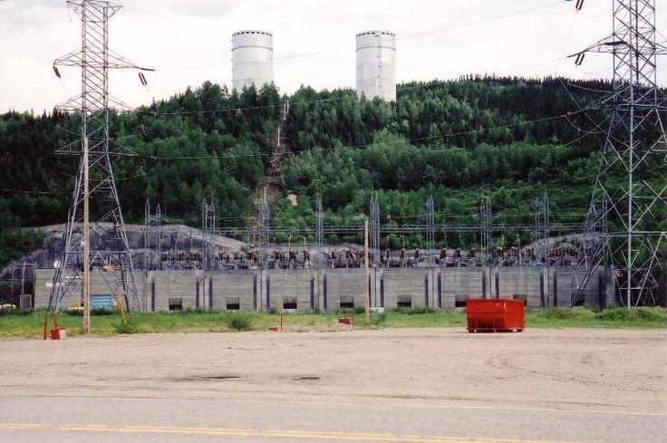 Visite du barrage de Manic 5 (Daniel Johnson) - 24 Juin 2005