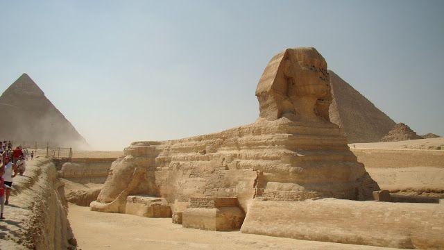 fascynujące podróże: Egipt -  mityczny Sfinks