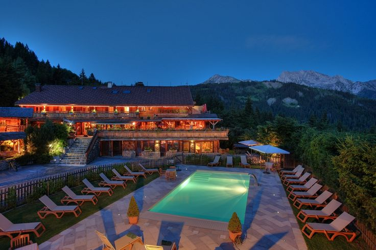 Chalet Hotel de la Croix-Fry #France #swimmingpool #Alps