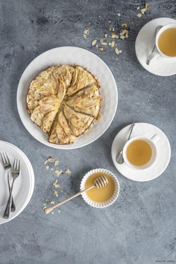 Quick Simple Easy Paleo Almond Flour Honey Apple Cake Comfort