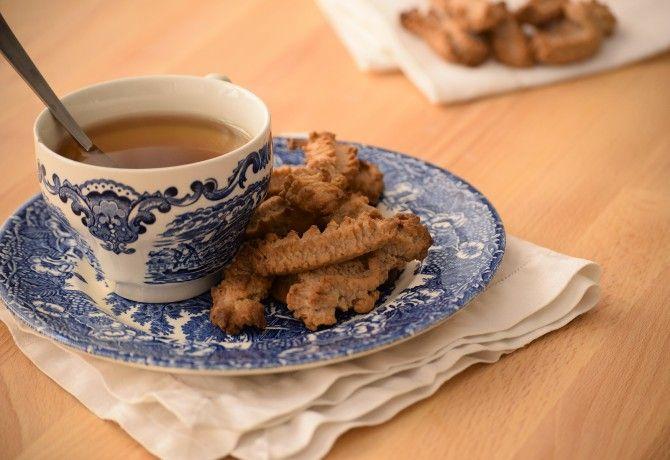 Vaníliás-diós darálós keksz