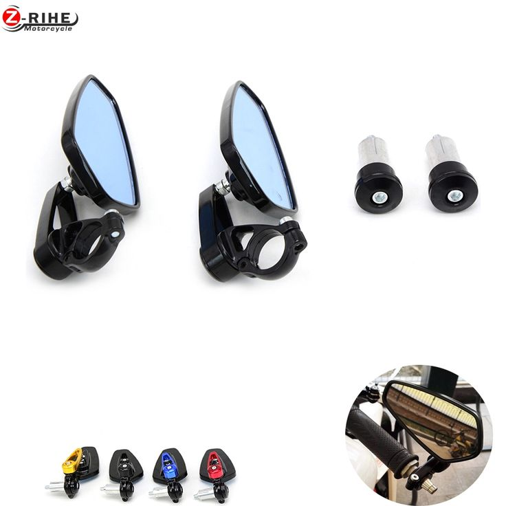 """==> [Free Shipping] Buy Best 7/8"""""""" 22mm handle bar Universal Pair Motorcycle Rearview Mirror Handle bar End Side Mirrors For ktm 690 smc Duke 390 1190 Adven Online with LOWEST Price   32812416333"""