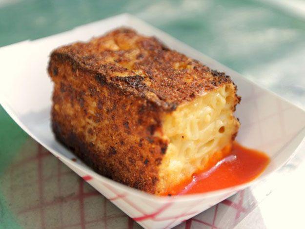 Food Truck Recipes - Griddled Mac N Cheese
