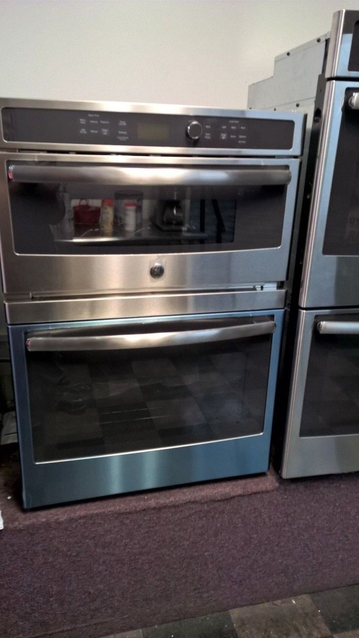 """GE 30"""" Electric Built In Combination Microwave/Oven - JT3800SHSS"""