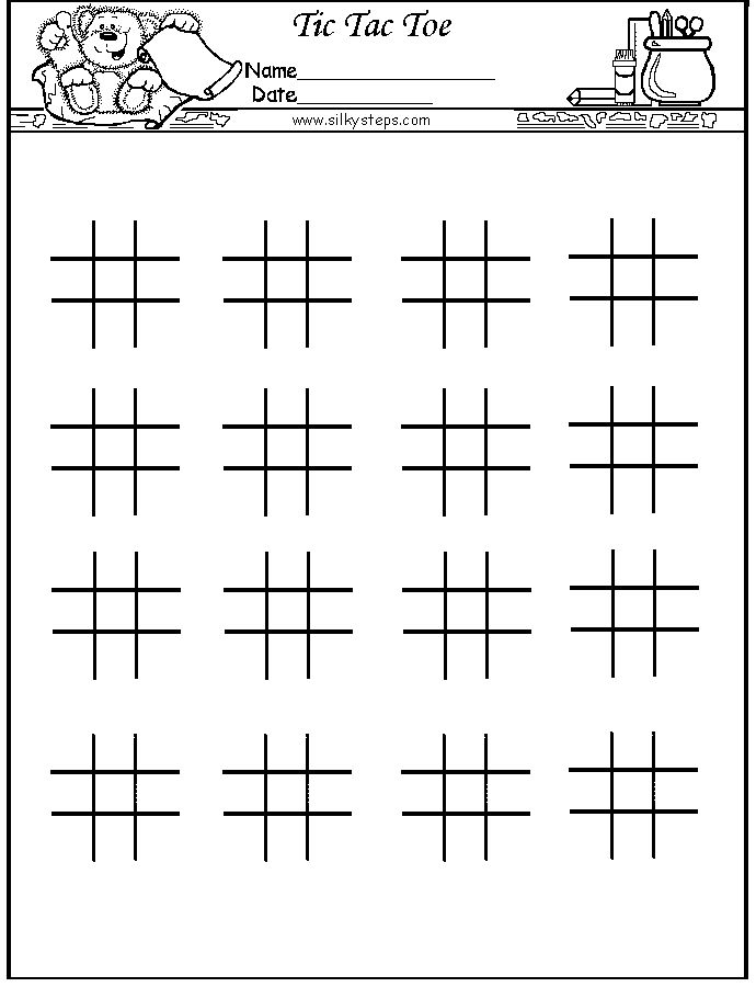Valentine39s tic tac toe games tic tac toe board toe for Tic tac toe menu template