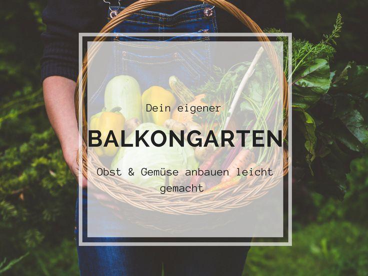 Gemüse vom Selbstversorger Balkon muss kein Traum bleiben. Ich zeige euch, wie ihr mit ein paar einfachen Tipps euer eigenes Obst und Gemüse anbauen könnt.