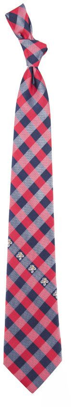 NHL Florida Panthers Check Woven Tie