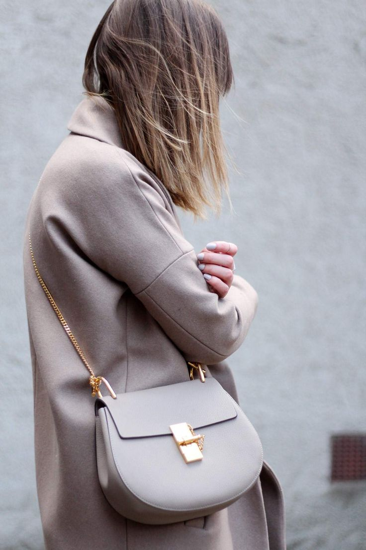 Neutral Tones - The Lovecats Inc - chloe drew bag grey - minimal outfit street style fashion blogger