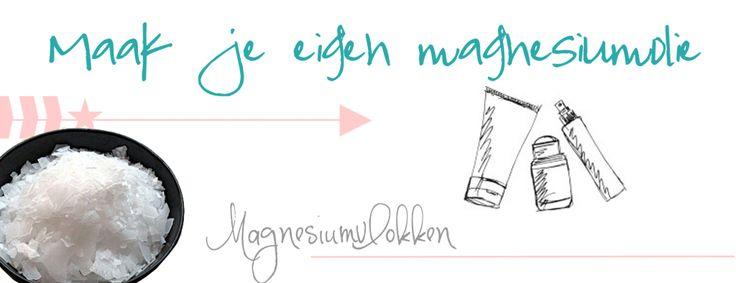 Maak je eigen magnesiumolie   Blissings.nl