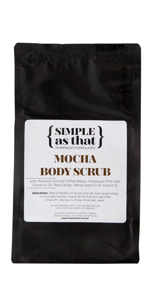 Simple As That - Mocha Body Scrub