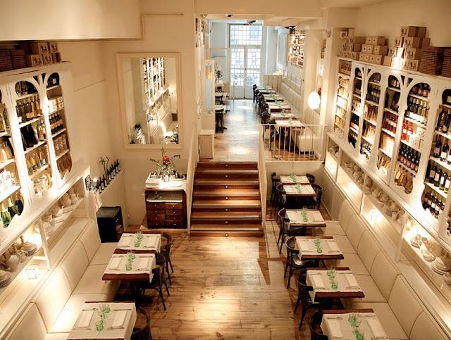 Bazaar restaurant in Madrid.