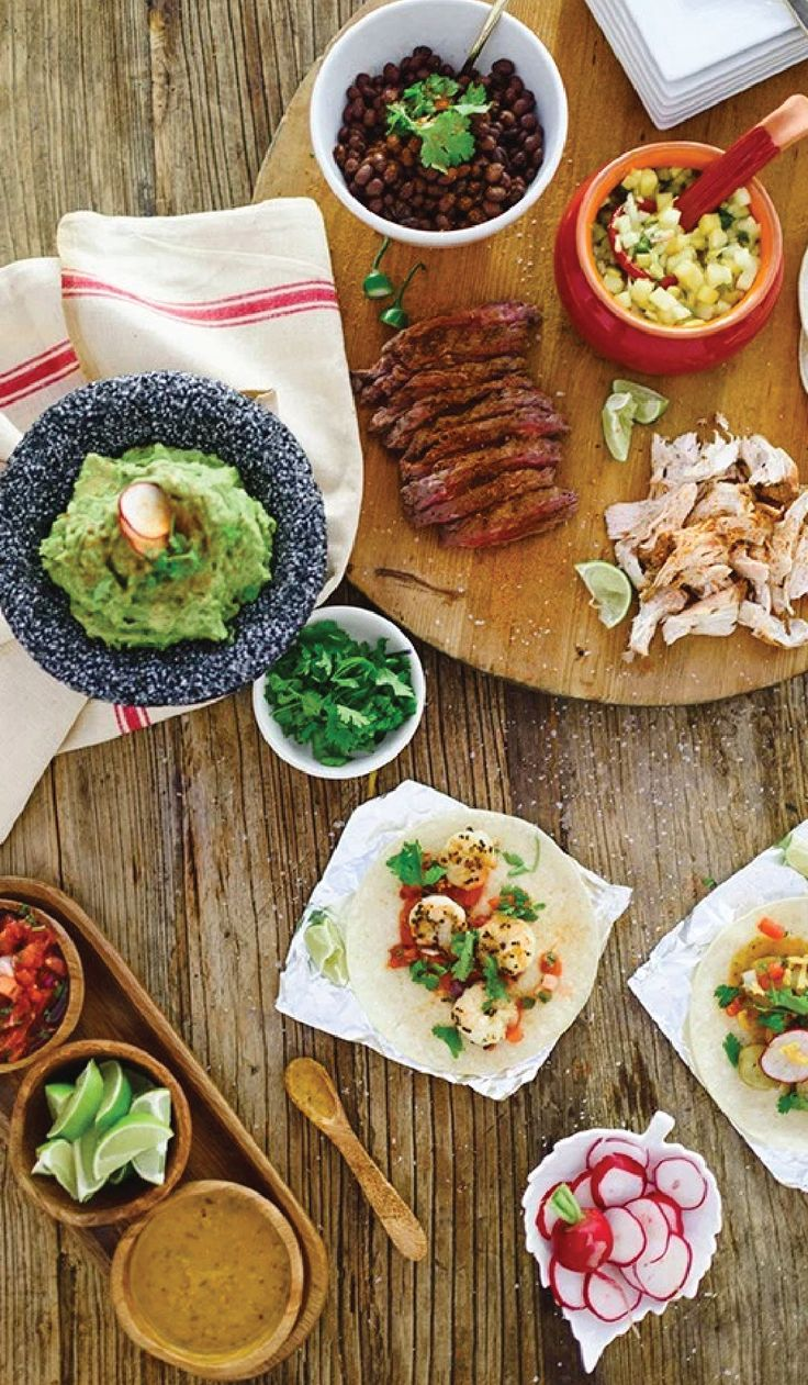 In our opinion, nothing makes better party food than tacos! So check out this DIY Taco Bar for inspiration on how to serve up an easy and delicious menu for everything from Game Day to Cinco de Mayo. Don't forget the margaritas!