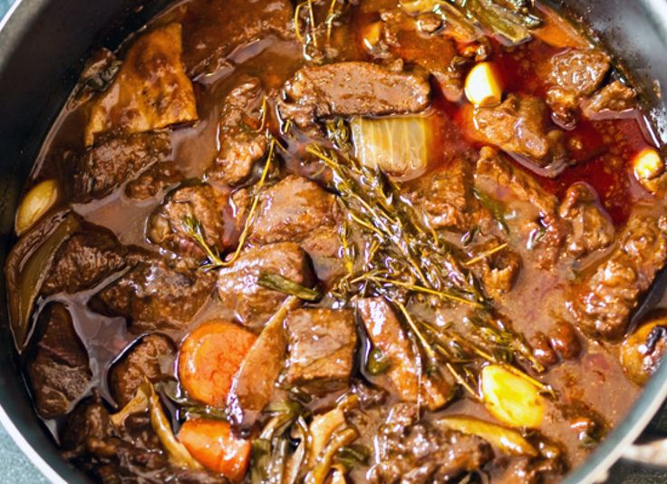 Julia Child's Boeuf Bourguignon - Classic French Recipes To Cook At Home (PHOTOS)    http://www.huffingtonpost.com/2011/10/27/julia-childs-boeuf-bourg_n_1056241.html