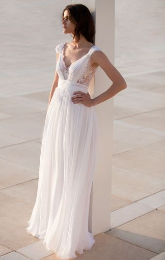 Grecian goodness from Mira Zwillinger.