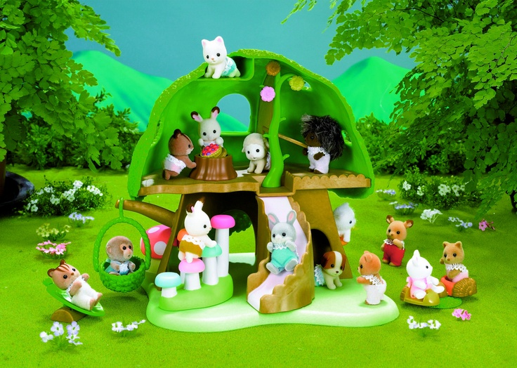 Sylvanian Families Nursery Tree House