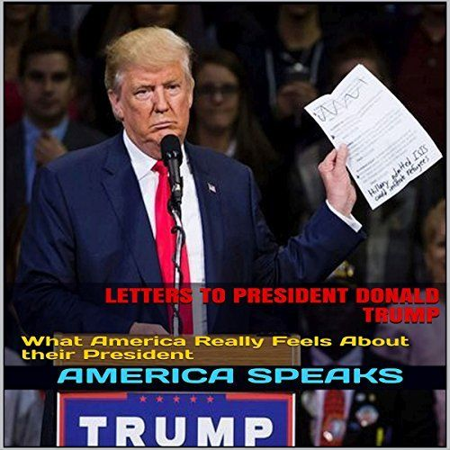 """Another must-listen from my #AudibleApp: """"Letters to President Donald Trump"""" by America Speaks, narrated by JD Kelly."""