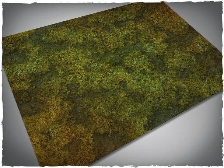 Deep-Cut Studio: New Swamp Terrain Mats Released