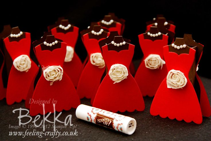 Dress Shaped Favours