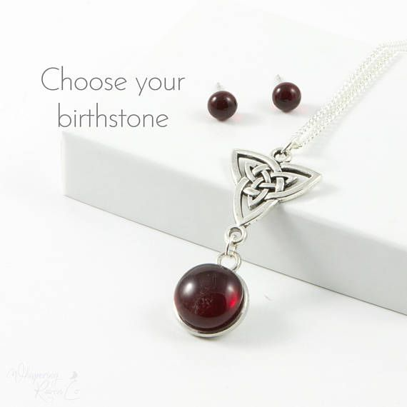 Unique Birthday Gift For Wife Birthstone Jewelry Set