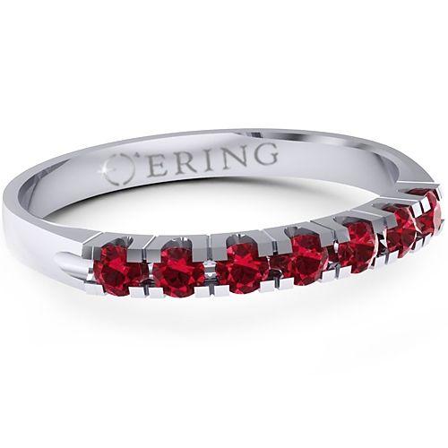 Inel logodna L86ARB inel cu rubin