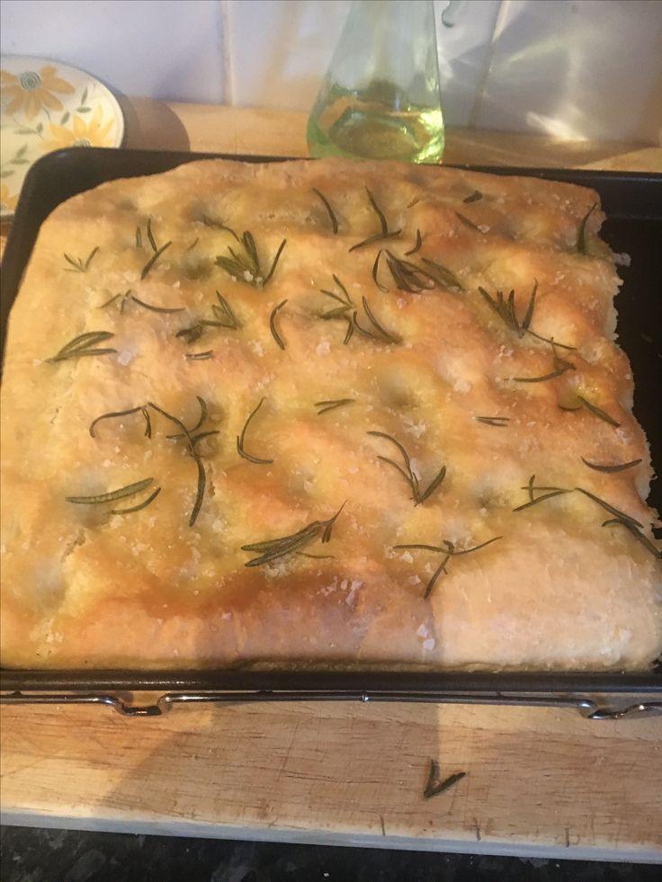 Homemade focaccia bread!