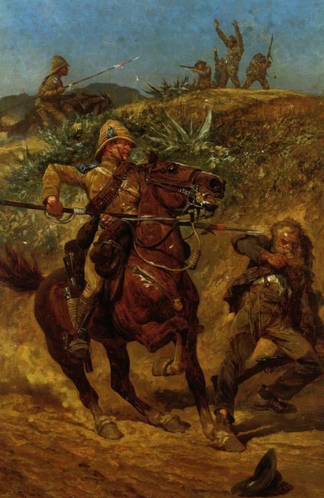 Richard Caton Woodville (Richard Caton Woodville), The Boer War