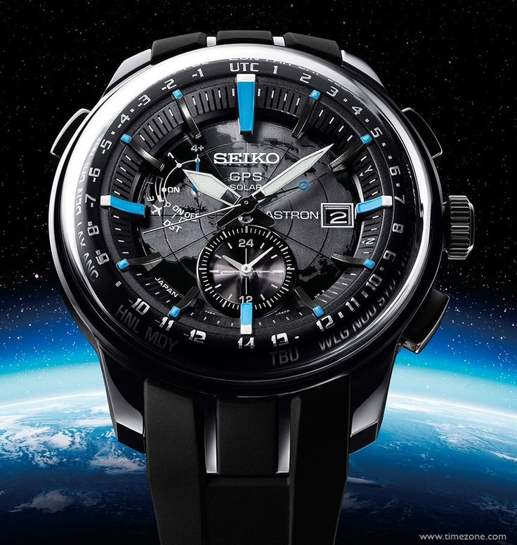 seiko astron gps solar a push of a button contacts 4 gps satellites to determine your exact location and sets the time accordingly