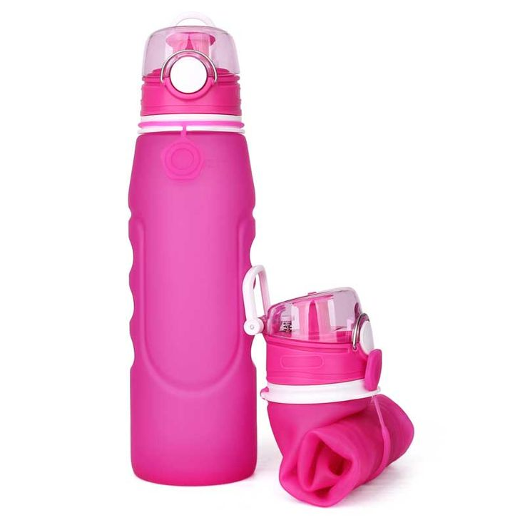 Fold up water bottle, 2017 new collapsible water bottle 1 litre Fold up water bottle
