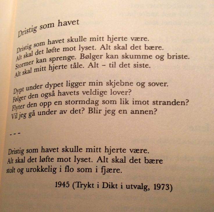 Dristig som havet av Inger Hagerup