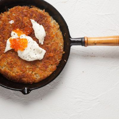 Taste Mag | Potato rösti @ https://taste.co.za/recipes/potato-rosti/