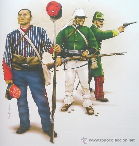 Militaria: Libro De Lujo Uniformes De La Guerra Del Pacifico Chile Peru Bolivia + DE 200 ILUSTRACIONES Y LAMINA - Foto 8 - 56547393