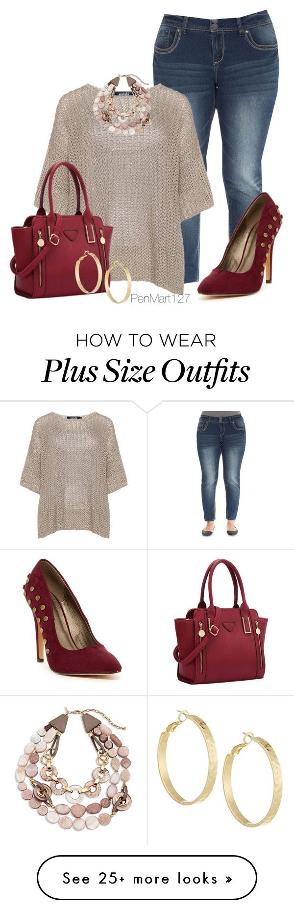 """""""#plussize"""" by penny-martin on Polyvore featuring Michael Antonio, navabi, Panacea, Chico's, women's clothing, women, female, woman, misses and juniors"""