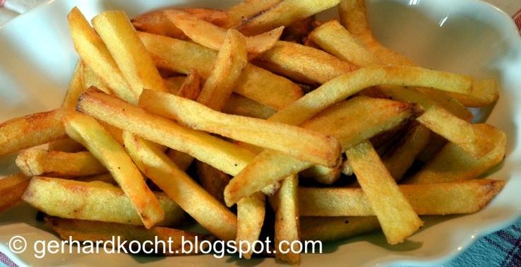 Pommes Frittes http://gerhardkocht.blogspot.de/2012/07/pommes-frittes ...