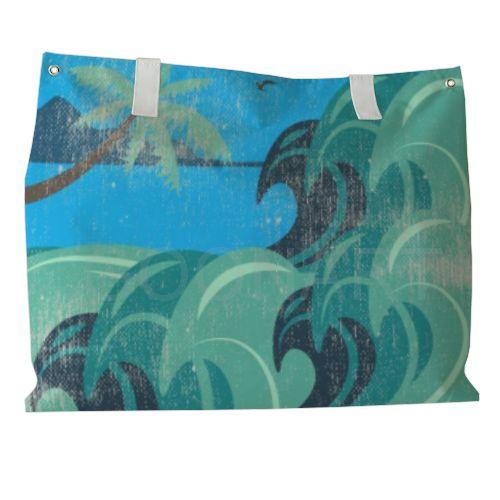 """Borsa Mare con la grafica """"Waves"""" --> http://www.goonart.it/dp/waves_su_borsa_mare-312-448"""