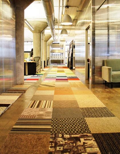 Rug/Floor Runner made out of sample carpet.....